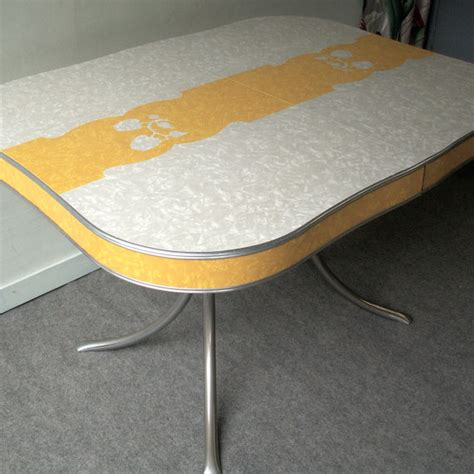 formica top table and chairs yellow formica table on vintage design seeur