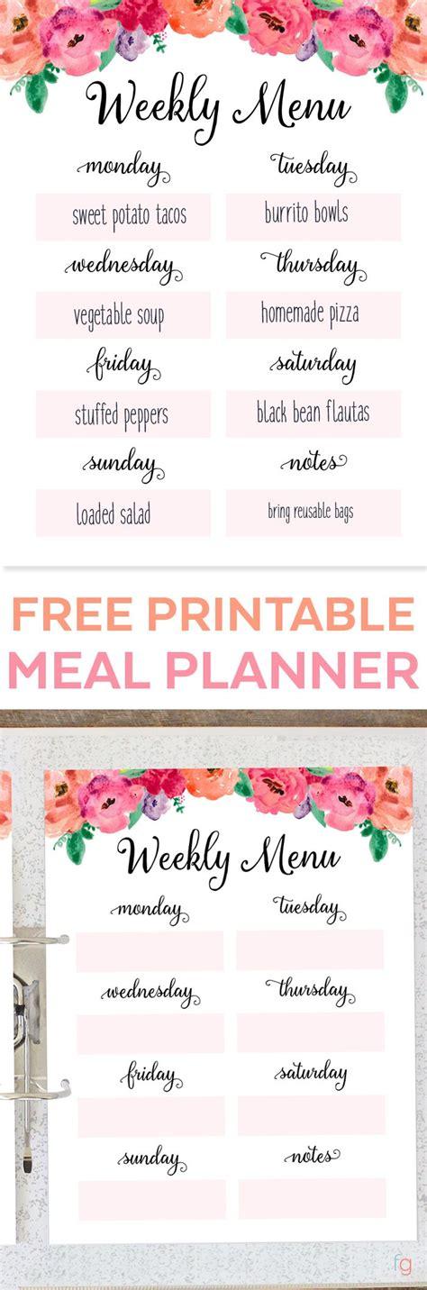 best 25 monthly meal planner ideas on pinterest weekly menu