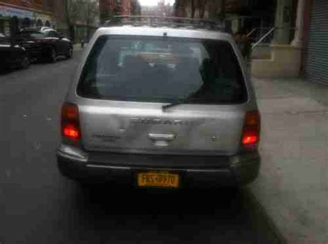 Subaru Forester Battery by Buy Used 2000 Subaru Forester Silver 5spd Manual New