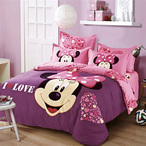 minnie bed set popular minnie mouse pillowcase buy cheap minnie mouse