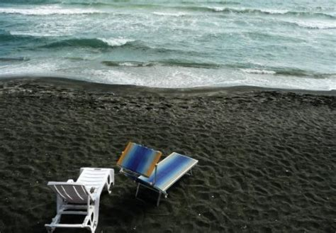 with black sand with black sand few from resort coast
