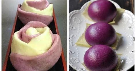 cara membuat warna ungu dari cat air tips membuat bakpao ungu yang cantik dapur bunda