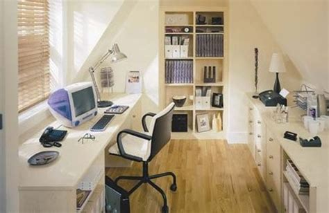 Cool Home Office Decor by 37 Cool Attic Home Office Design Inspirations Digsdigs
