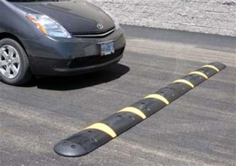 reflective pavement markers, hydrant markers, speed bumps