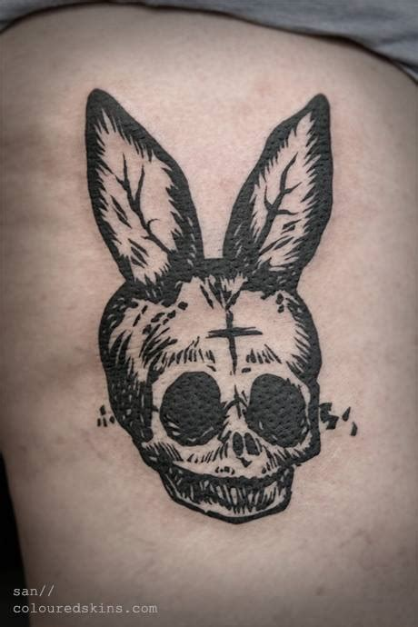playboy tattoo for men skull tattoos by san from coloured skins