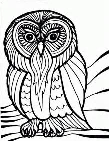 Free Printable Owl Coloring Pages For Kids sketch template