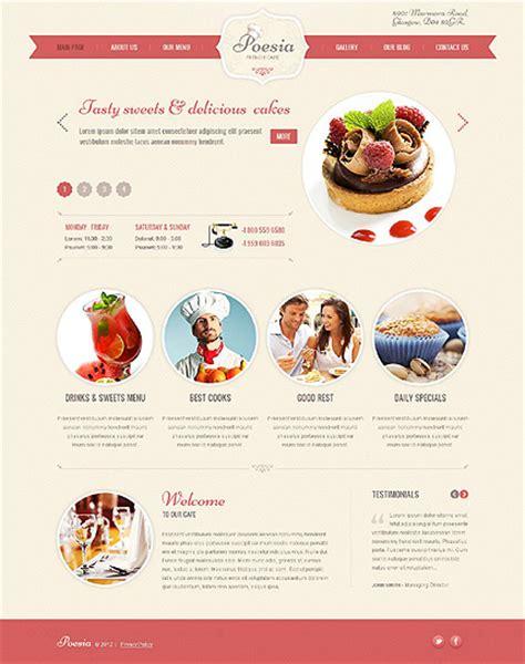 excellent cafe and restaurant website templates entheos excellent cafe and restaurant website templates entheos