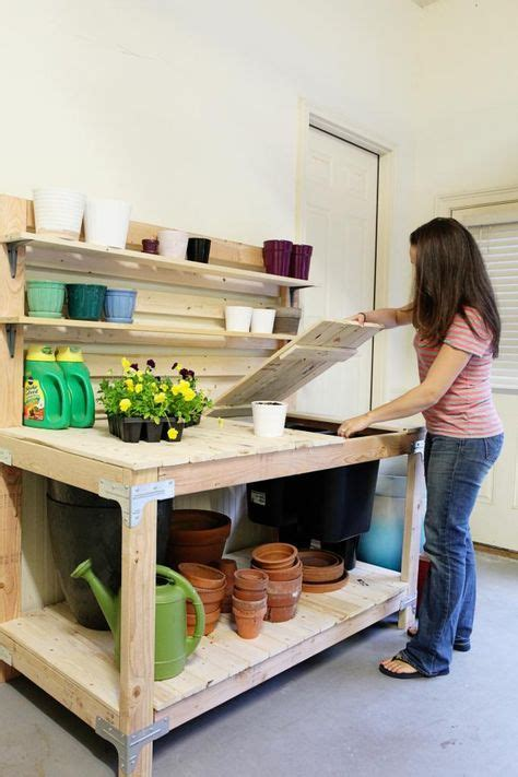 rubbermaid potting bench 17 best ideas about potting bench plans on pinterest