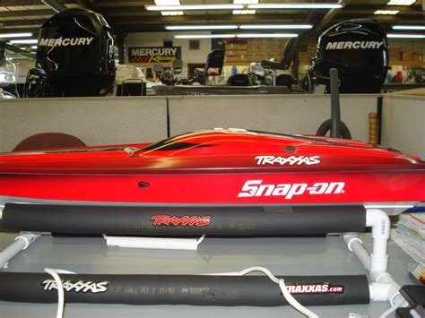 traxxas m41 boat snap on my new snap on