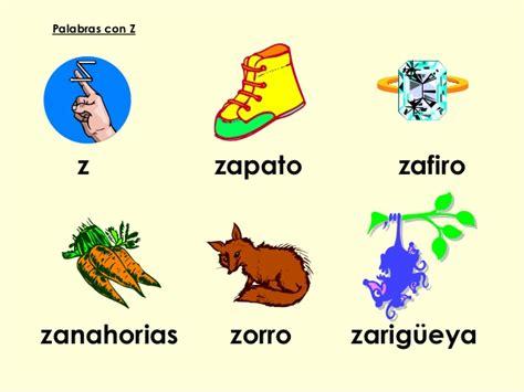 imagenes que inicien con la letra z palabras con z