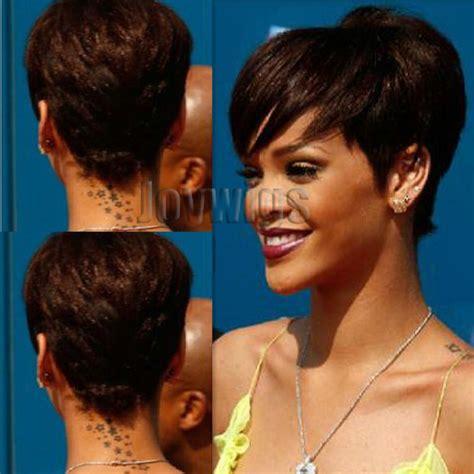 where do celebrities get their haircut when in las vegas nv joywigs rihanna celebrities with their hair cut short wig