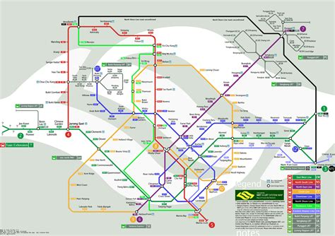 singapore mrt map map of singapore republic of singapore maps mapsof net