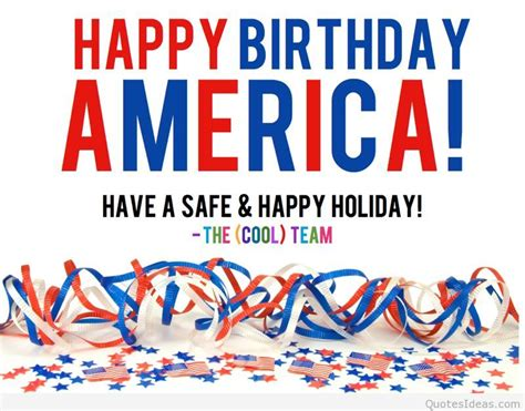 4th Of July Birthday Quotes by Happy Birthday America 4th Of July 2015