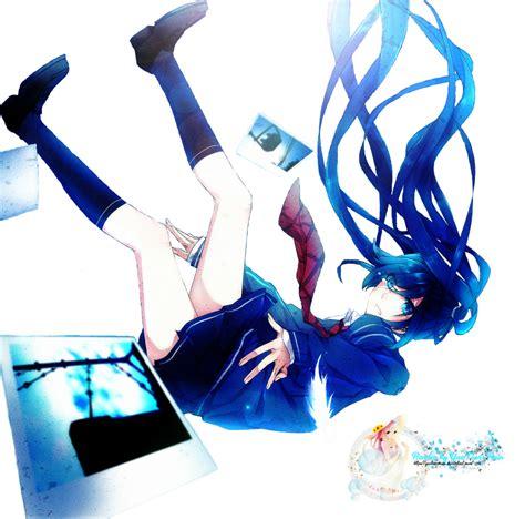 Anime Art Falling Render Anime Girl Falling By Yue Tr By Yuetearsrain On