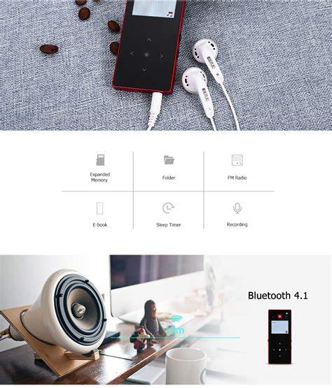 Benjie N7000 Mp3 Digital Audio Player Lcd 8gb With Fm Radio Mic benjie bluetooth mp3 player with digital lcd screen support 64gb tf card ebay
