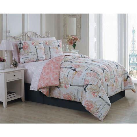 amour  piece pink queen bed   bag amubbquenghpk