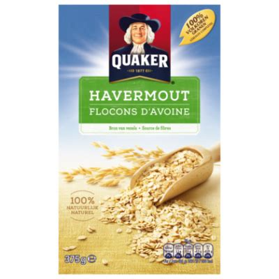Rolled Oats 500gram quaker cruesli licht luchtig naturel product en prijs