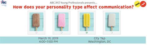 abcxyz personality type affect communication