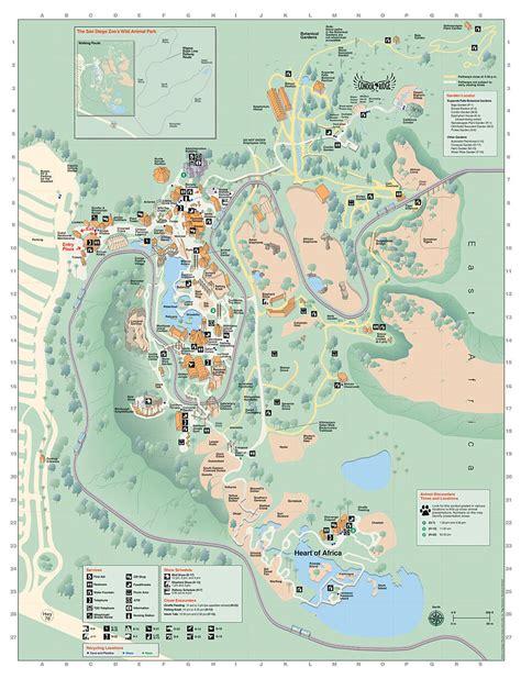 map san diego zoo safari park san diego zoo and safari park combo tour air canada