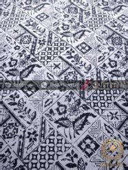 Kain Batik Buket Kawung Jenggot jual kain batik bahan baju motif tambal garis hitam