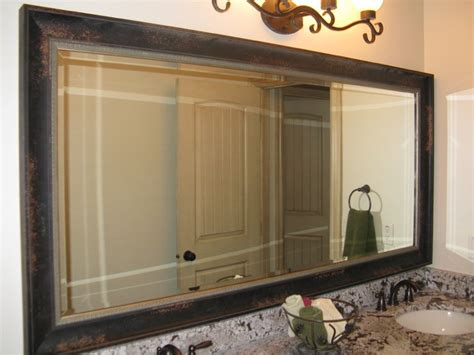 mirror frame kits for bathroom mirrors mirror frame kit traditional bathroom mirrors salt