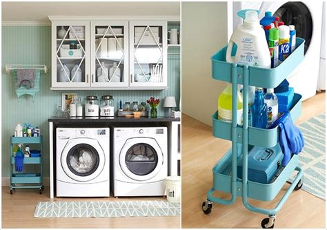 ikea raskog kitchen garden bath garage organize rolling 15 clever ikea rolling cart hacks that are simply awesome