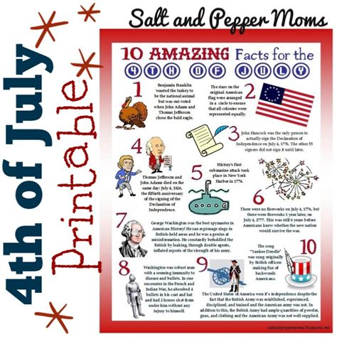4th Of July Facts by 4th Of July For Delaware Child Care Tender