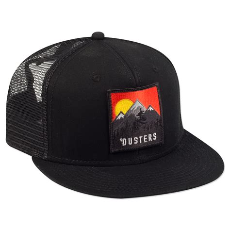 Topi Trucker A Hatshop 9 dusters black trucker hat shop the the infamous
