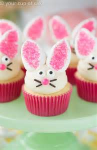 Cupcake Decorations by Best 20 Bunny Cupcakes Ideas On Easter