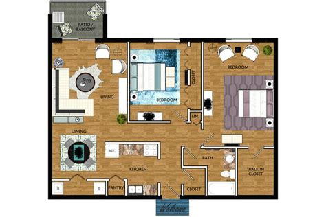 2 Bedroom Apartments Winter Park FL   The Lexington at