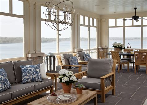 casual elegance at lakeside hideaway idesignarch