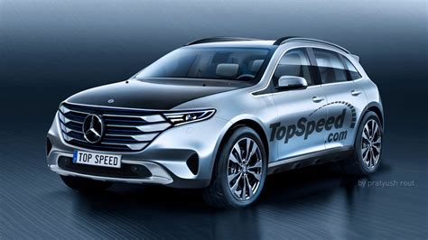 mercedes benz  electric suv top speed
