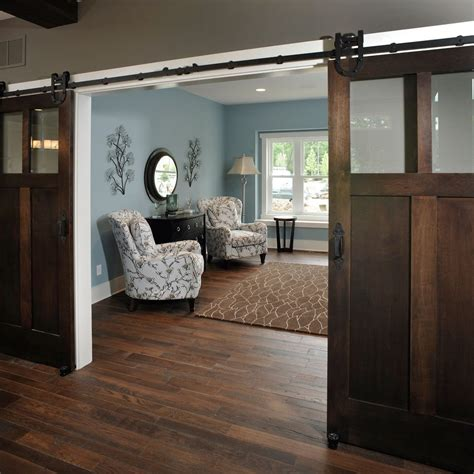 design house hardware for doors craftsman barn door spaces rustic with hanging barn door