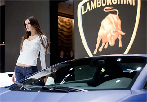 Lamborghini Fashion Lamborghini Puts On A Fashion Show The New York Times