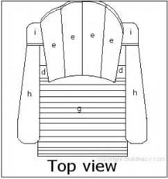 Cape Cod Blueprints adirondack chair project metric version the plans