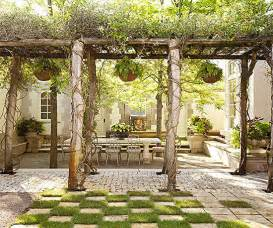 Pergola Floor by Pretty And Practical Backyard Ideas Outdoor Living