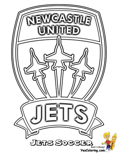 jets football coloring pages jets football coloring pages striking australia soccer