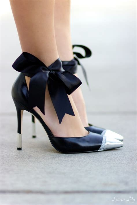 diy pumps shoes diy bow pumps los angeles fashion style