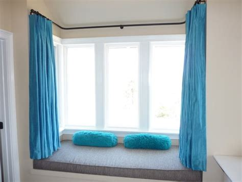 modern bay window curtains 38 best images about bay windows with curtains on