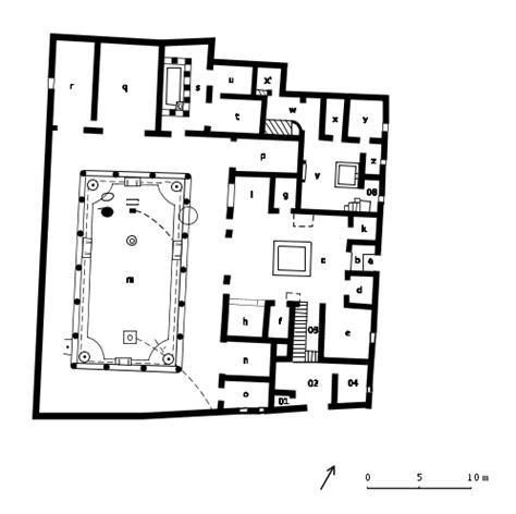 house of the vettii floor plan casa dei vettii
