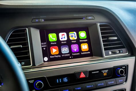 carplay for android hyundai introduces free diy upgrade to apple carplay android auto for us models autoevolution