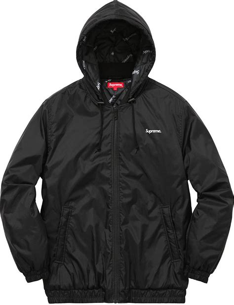 supreme jacket supreme 2 tone hooded sideline jacket supreme ny