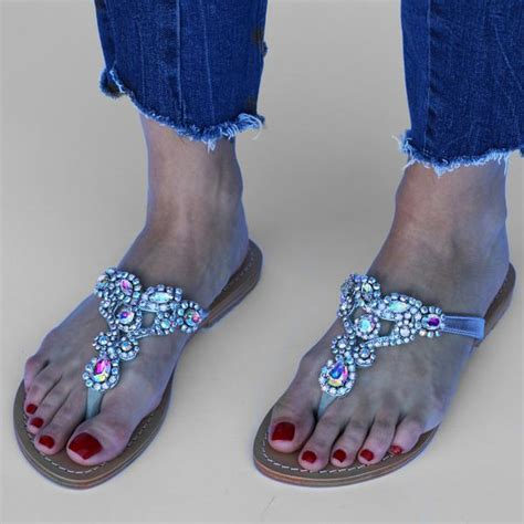 new zealand s leather jeweled sandals mystique
