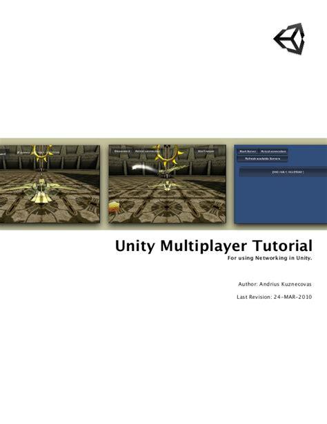 tutorial unity networking 38199728 multi player tutorial