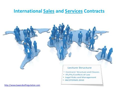 international sales international sales and services contracts