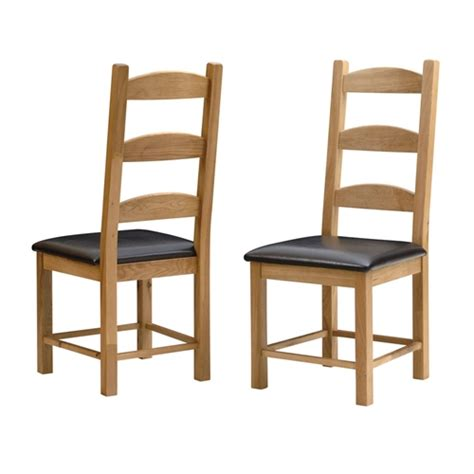 Light Oak Dining Room Chairs Light Oak Ladderback Chair Including Free Delivery 607 006 Pine Solutions