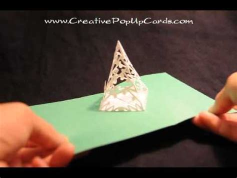 simple pyramid tree pop up card template complex pyramid tree pop up card template