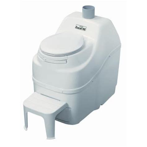 Composting Toilet Home Depot by Sun Mar Excel Non Electric Waterless High Capacity Self