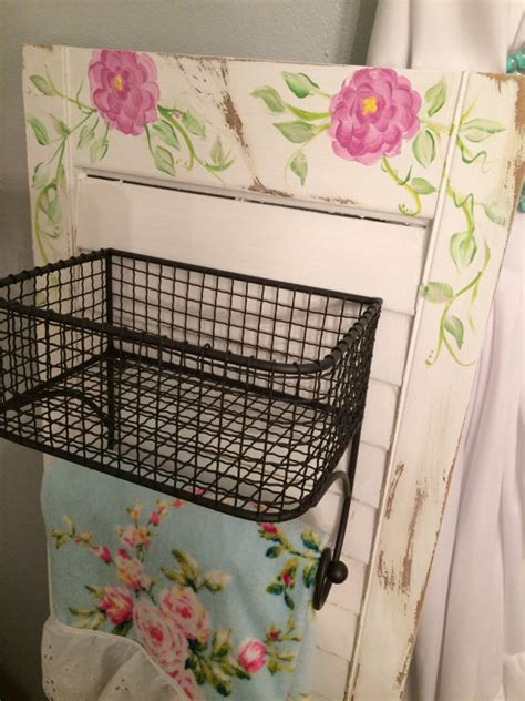 hanging baskets for bathroom kitchen or bathroom wall storage hanging baskets with towel