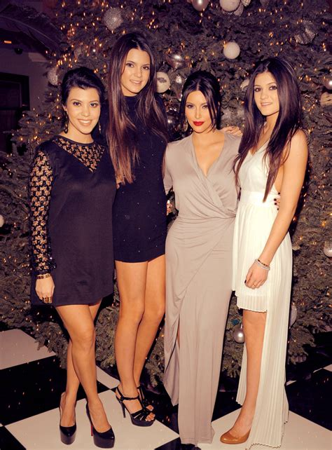 kendall jenner banned her kardashian sisters from kourtney kardashian her sisters kendall jenner kim